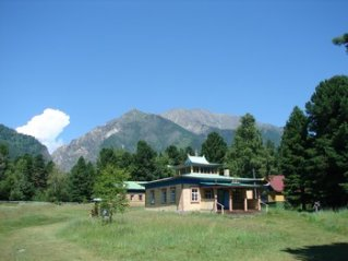 Буддийский дацан в Аршане