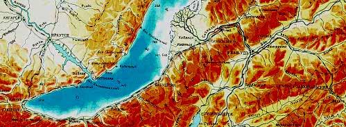 Улан-Удэ карта